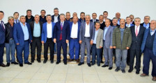 Merkez köy muhtarlarından Başkan Akay'a