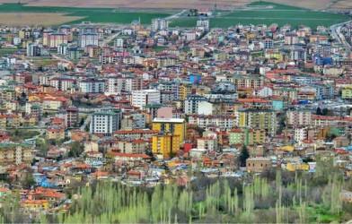 Kayseri'nin Develi ilçesinde